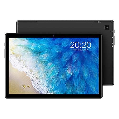 TECLAST M40 Gaming Tablet 10 Zoll, 6GB RAM+128GB ROM, 4G LTE+5G WiFi, Android 10 Tablett PC T618 Octa Core 2.0Ghz Prozessor, 1920x1200FHD, 5MP+8MP Kamera, GPS+SIM+WLAN, BT5.0, 6000mAh, Typ C(512GB TF)