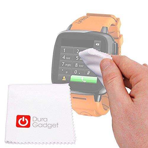 DURAGADGET Paño/Gamuza para Reloj Intex IRist - WatchPhone   Ksix BXSW02   BXSW01   Excelvan K88H   Garmin Forerunner 910XT - Mantenga Su Dispositivo Impecable