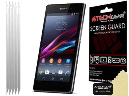 Techgear - Protector de pantalla LCD para Sony Xperia Z1 (3 unidades)