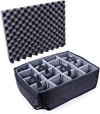 Grey CVPKG Padded dividers to fit The Pelican 1610 case.