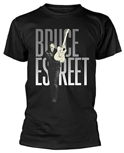 Bruce Springsteen 'E Street' (Black) T-Shirt (x-Large)
