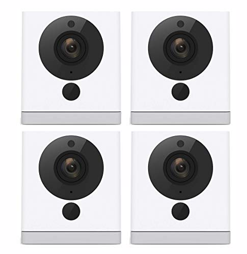 Wyze Cam Wireless Smart Home Security Camera System Wireless | HD Indoor Night Vision Surveillance | Person Detection | Text Email Emergency Notify | Alexa Google Assistant Compatible