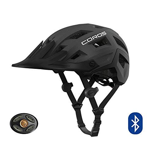 Coros SafeSound - Mountain Smart Cycling Helmet with Ear Opening Sound System, SOS Emergency Alert,...