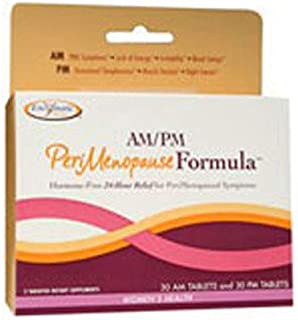 Enzymatic Therapy AM/PM PeriMenopause FormulaTM 60 Tablets ( 2-Pack)