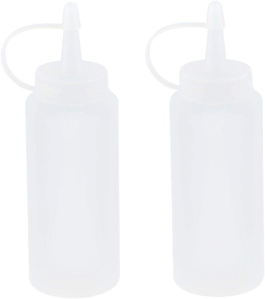 ZIL-style Home Plastic All Overseas parallel import regular item stores are sold Squeeze Bottle Sauce Nozzle Dispenser Oil