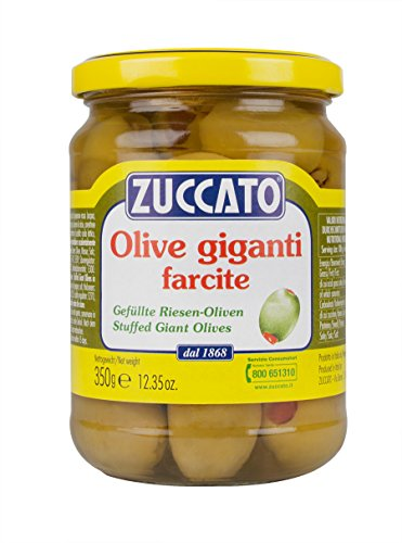 Zuccato Olive V. Giganti Farcite - Pacco da 12 x 350 g