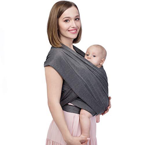 Fular portabebés Darby • Riñonera para bebé y recién nacidos de 0 a 36 meses, elástica de algodón • Accesorio para bebé, idea de regalo
