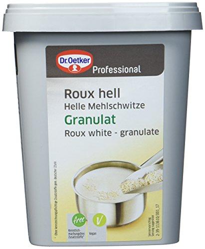 Dr. Oetker Professional Helle Mehlschwitze, Abbinden heller Fonds, Granulat in 700 g Dose, Roux hell