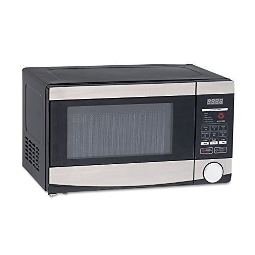 Avanti MO7103SST 0.7 Cu.ft Capacity Microwave Oven, 700 Watts, Stainless Steel and Black
