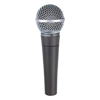 Shure SM58-CN Cardioid Dynamic Vocal Microphone by Shure Incorporated