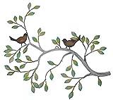 Frank Flechtwaren DÃÂcoration murale motif branche avec oiseaux by Frank Flechtwaren