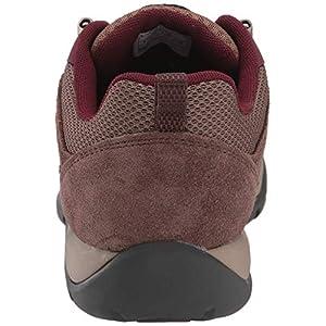 Columbia Women's Redmond V2 Hiking Shoe, Dark Truffle, Rich Wine, 7.5 Regular US