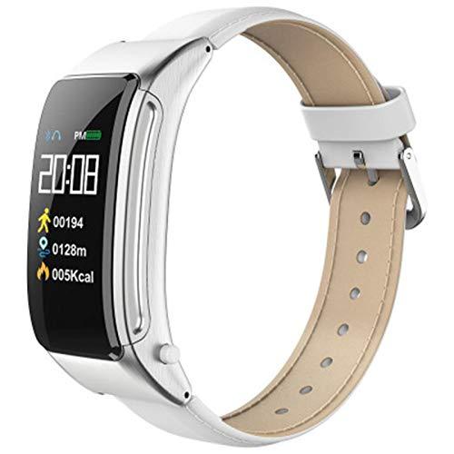 2In1 Pulsera Inteligente B31 con Auriculares Bluetooth Talk Smart Band Wristwatch Band Music Control Pedómetro Sleep Monitor Sport Watch,C