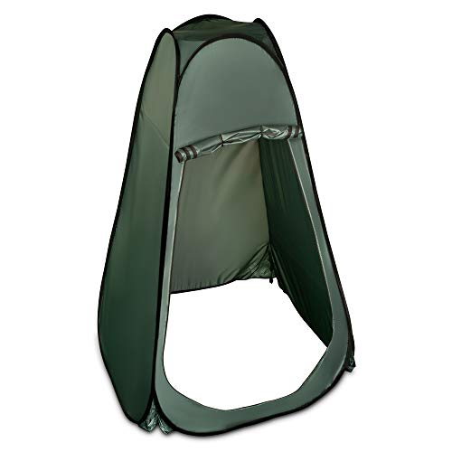 Hillington Lightweight and Portable Instant Pop Up Tent Ideal For Camping Toilet, Shower, Privacy Space/Room For Camping Caravan Picnic Fishing and Festivals Holidays Beach Shower Changing Tent