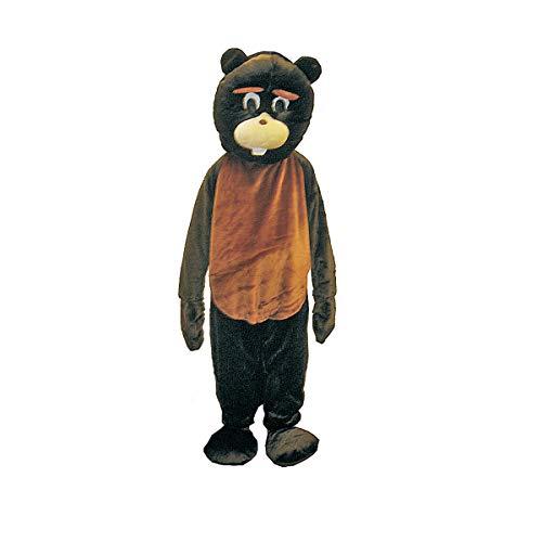 Biber Maskottchen Kostüm Set von dress up Amerika (Adult)