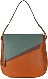 Baggit Women's Synthetic Shoulder Bag (Orange) (L Awry Y G Z)