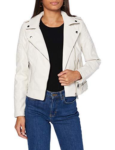 VERO MODA Damen VMKERRIULTRA Short Coated Jacket COL Kunstlederjacke, Birch, L