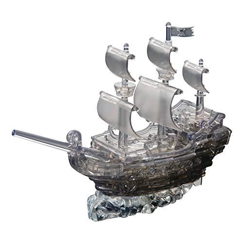 HCM Kinzel GmbH 59129 HCM Kinzel Jeruel 59129-Crystal Puzzle, Piratenschiff, Acryl