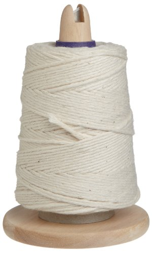 Regency Wraps For Meat Prep and Trussing Turkey Cooking Butcher's Twine on Handy Dispenser with Cutter, 1 EA, White/Natural