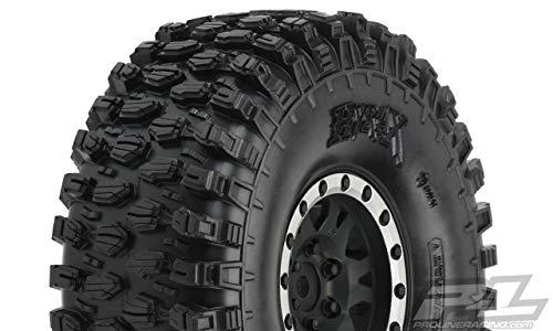 Proline Hyrax 1.9 G8 Tyres On Impulse Blk/silv B/lock Wheels