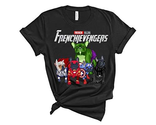 French Bulldog frenchievengers Tshirt Gift.