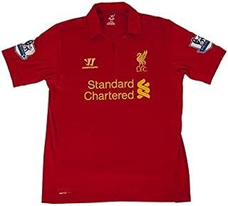 Jamie Carragher Match Worn Autographed Signed 2013 Liverpool Fc Final Season Jersey (Size XL) - JSA