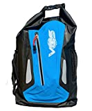 Vos Waterproof Bags All Purpose Roll Top Sack Keeps Gear & Personal Items Dry Perfect for Rafting, Kayaking, Winter Sports, Paddle Boarding, Swimming, Boating, Fishing (Blue, Backpack)
