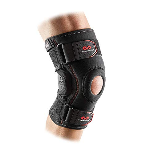 Mcdavid Knee Brace Patella Stabilizer, Compression Sleeve w/ Side Hinges for Knee Support, Injury Recovery & Prevention from Moderate to Major Injuries, for Men & Women