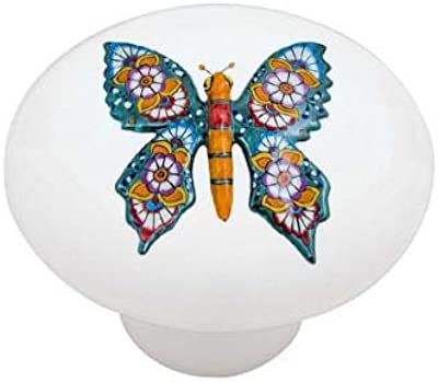 Butterfly Collection Light Switch Cover Night Light,Cabinet Knob Home Decor