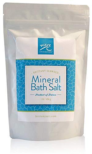 Mineral Bath Salt Soak with Brittany Seaweed, Relax + Detox