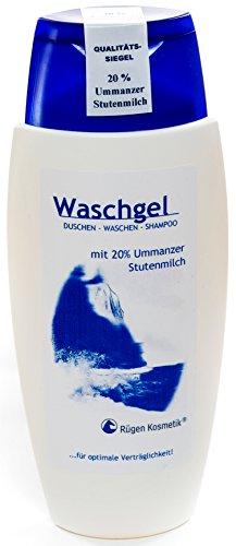 Rügen Kosmetik Waschgel mit 20% Ummanzer Stutenmilch 150ml