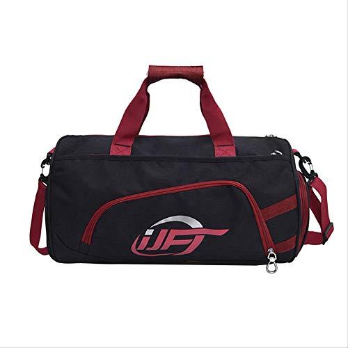 Reisetasche Übergroße Zusammenklappbare Leichte Handgepäck Herren Und Frauen Universelle Multi-Color Optional 100-stil Schultergurt Mit Schuhschrank rot