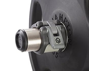 Lock-Jaw HEX 50mm / 2  Olympic Barbell Collar  Black