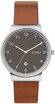 Skagen Ancher Stainless Steel Quartz Men's Watch