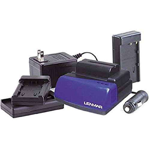 Lenmar BCLC1X 3.6 Volt -7.4 Volt LI-ION Charger for Camcorder and Camera Batteries