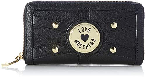 Love Moschino Damen JC5654PP0BKQ0000 Geldbrse, Schwarz, Normale