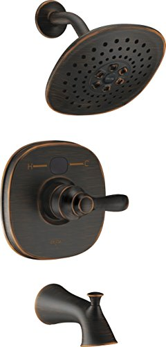 Delta Faucet T14403-RBT2O Transitional Tub Shower, Venetian Bronze
