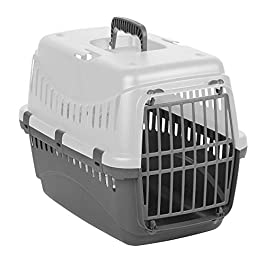 Cavendish Trading Click & Secure Pet Carrier in 3 Colours (Grey)