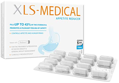 XLS-Medical Appetite Reducer - Effective Appetite and Hunger Pangs Control,...