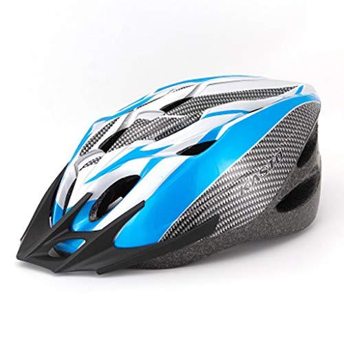 Erwachsener Fahrradhelm professioneller Mann und Frau Sicherheitsschutz einstellbar Leichter Helm (Color : J)