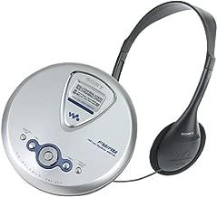 Sony D-NF400 ATRAC Walkman Portable CD Player with Digital AM / FM / TV / Weather Tuner