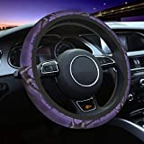 Purple Dragon Car Steering Wheel Cover 15 Inch Universal Fit Most Vehicles Automotive Car Wrap Cover,Washable And Comfortable