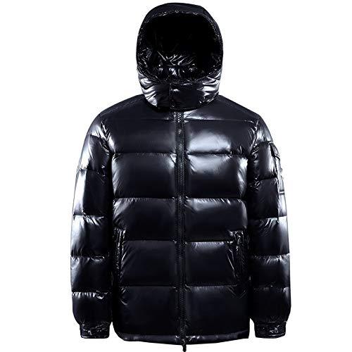 DPKDBN Heren Down Jacket, witte eendendons capuchon jassen mannen, heren winter donsjacks, parkas mannen, plus-size