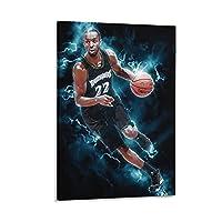 スポーツアンドリューウィギンズバスケットボールキャンバスポスター寝室の装飾スポーツ風景オフィスルームの装飾ギフトキャンバスポスター壁アートの装飾リビングルームの寝室の装飾のための絵画の印刷 20x30inch(50x75cm)