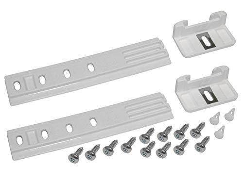MDS Ersatzteile Universal Türmontageset Türscharnier Schleppscharnier Kühlschrank passend für Liebherr wie 9086322 9086084 9086111