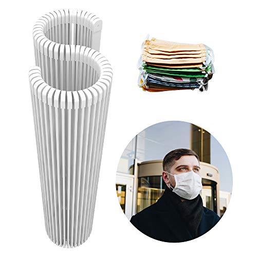 NOEMANN Premium Rostfreie Nasenbügel für Mundschutz Behelfsmasken - Biegsame & stabile Metallbügel mit Endkappen für DIY Community-Masken - Ummantelt für Beste Verformbarkeit - Waschbar - 50 STK