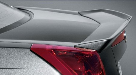 Accent Spoilers - Spoiler for a Cadillac CTS Flush Mount 2003-2007 Factory Style Spoiler-Black Paint Code: WA8555