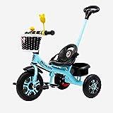 LINQ Trike con asa - Bicicletas eléctricas para niños, Dos Modos de conducción Diferentes, un Cochecito Adecuado para bebés de 1 a 6