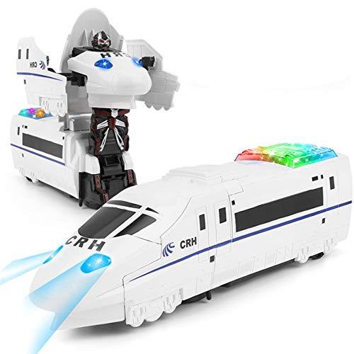 DEORBOB Nuevo 2 en 1 Robot de Tren de deformación de conducción...