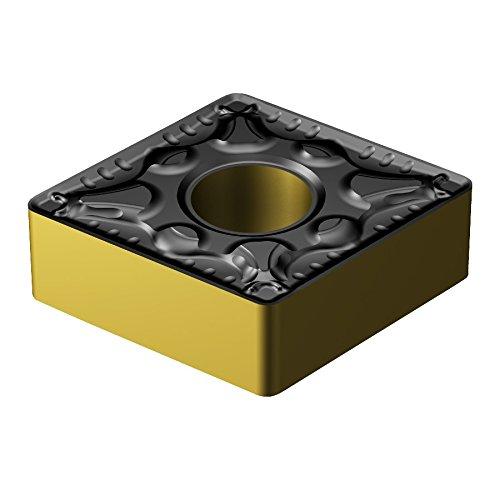 Sandvik Coromant, CNMG 643-PM 4325, T-Max P Insert for Turning, Carbide, Diamond 80°, Neutral Cut, 4325 Grade, Ti(C,N)+Al2O3+TiN, Inveio Coating Technology (Pack of 10)